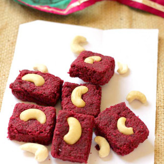Beetroot Burfi Recipe