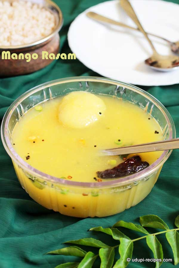 Raw Mango Rasam | Raw Mango Soup Recipe