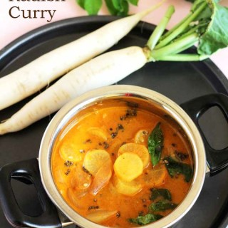 Radish Curry Recipe