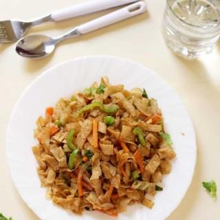 leftover chapati-upma