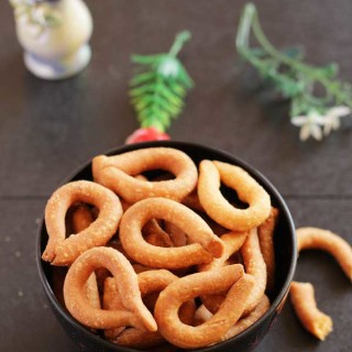Kodubale | Ring Murukku Recipe