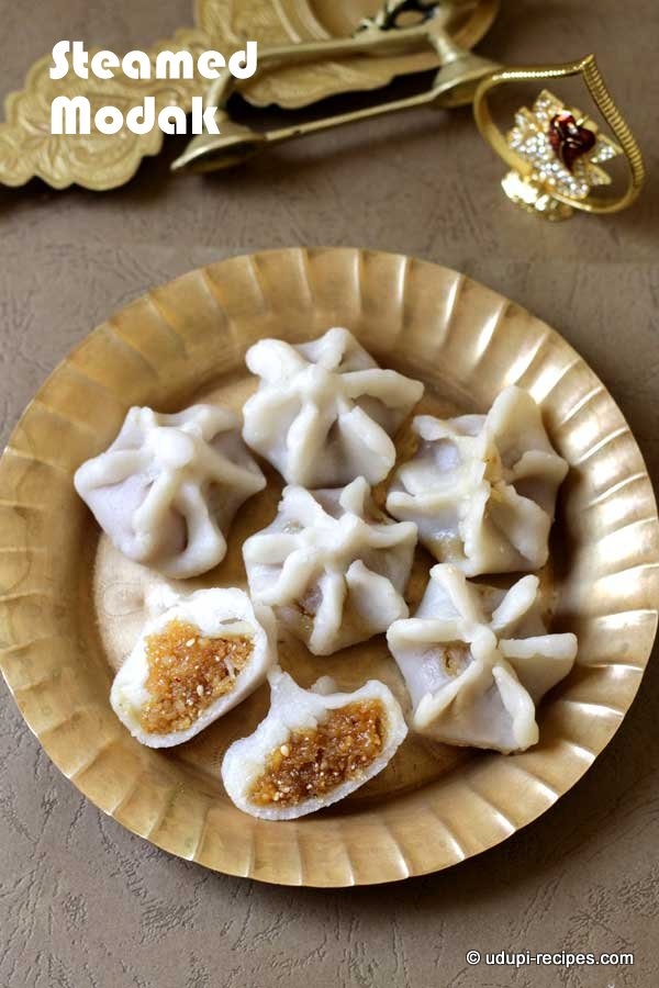 Steamed Modak Recipe | Ganesh Chaturthi 2015 Recipes