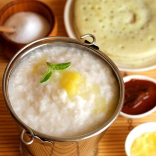Coconut Milk Rice Porridge | Dwadashi Ganji | Kanji Recipe