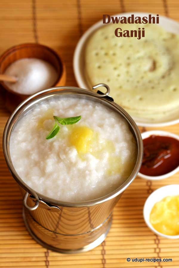 Ganji-kanji-Rice porridge