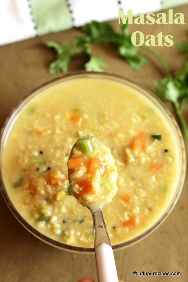 healthy masala oats