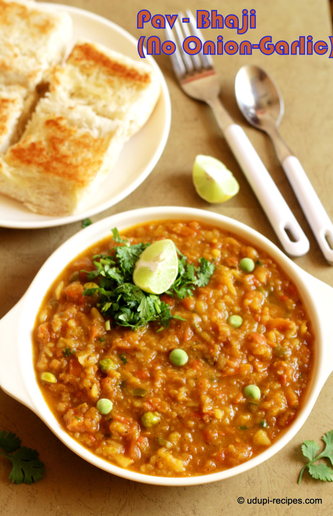 Pav-bhaji -No onion-garlic
