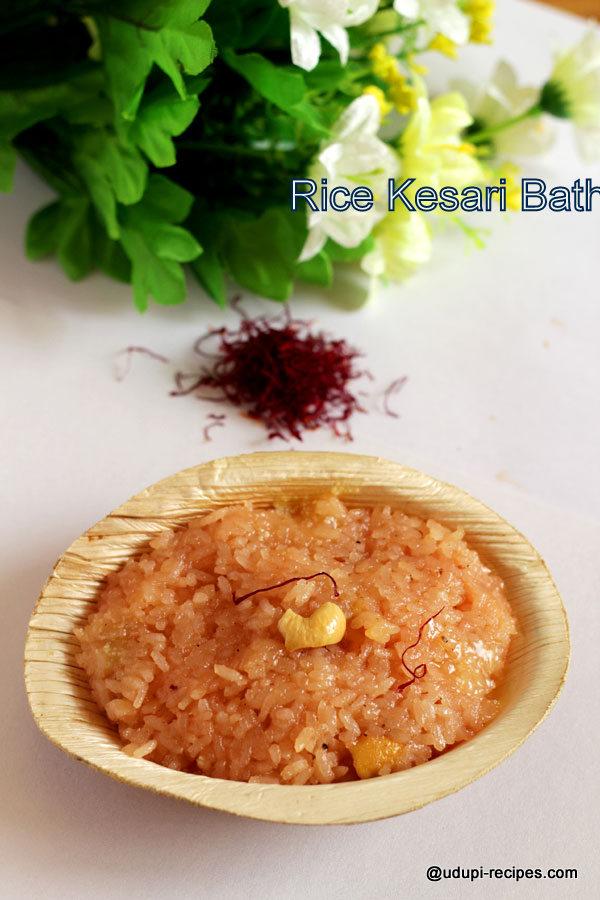 divine tasting rice kesari bath