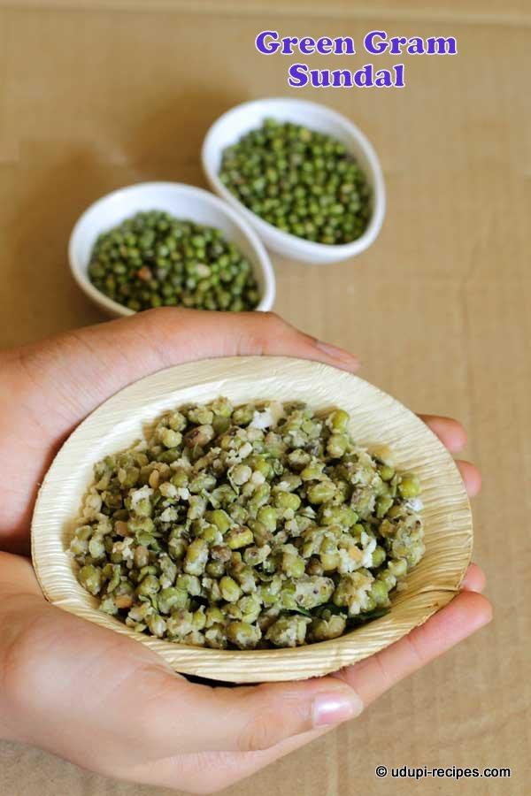 green gram sundal