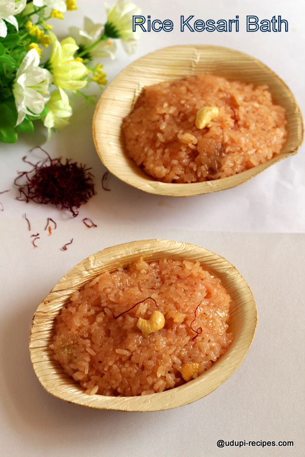 rice kesari bath
