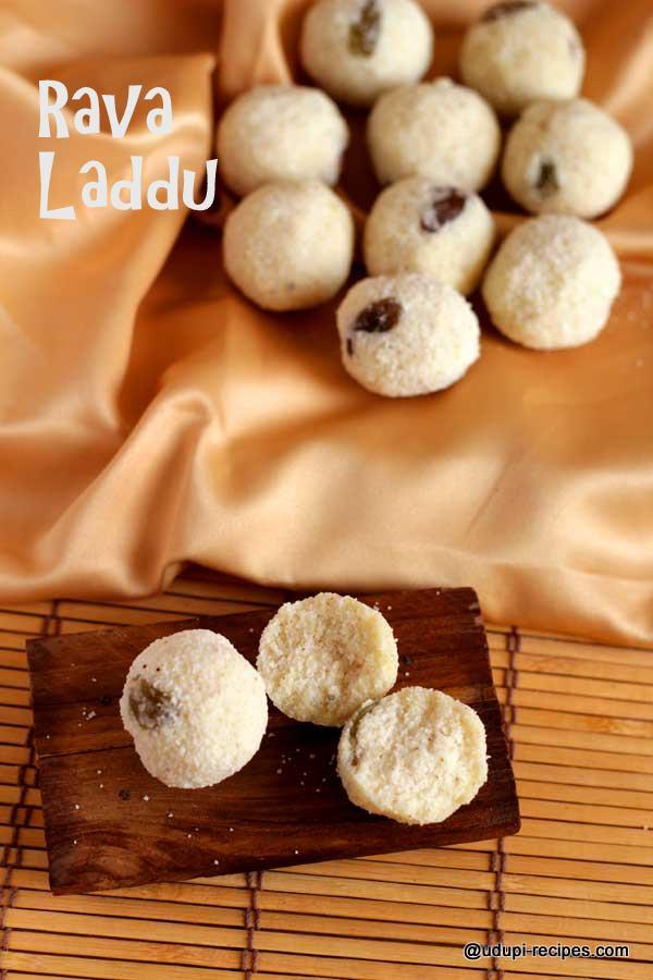 delicious rava laddu