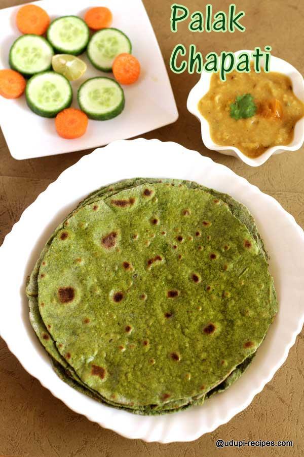 delicious palak paratha