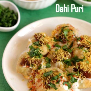 Wonderful chaat dahi puri