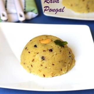 Rava Pongal | Khara Pongal using Rava