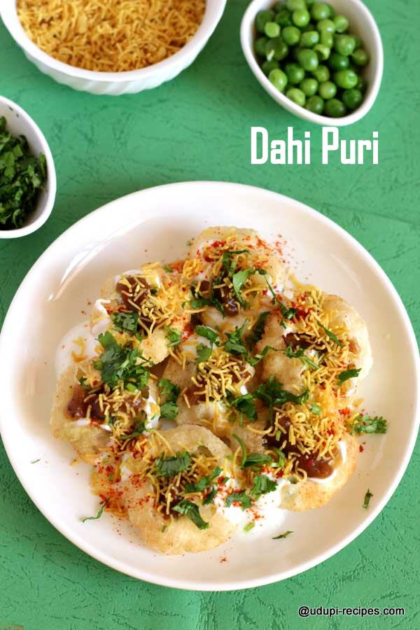 delicious chaat dahi puri