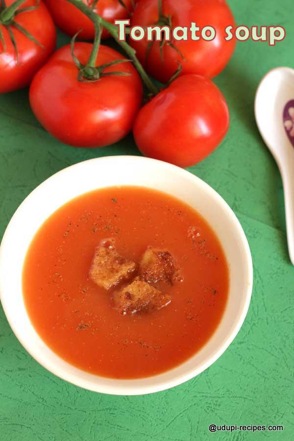gorgeous tomato soup