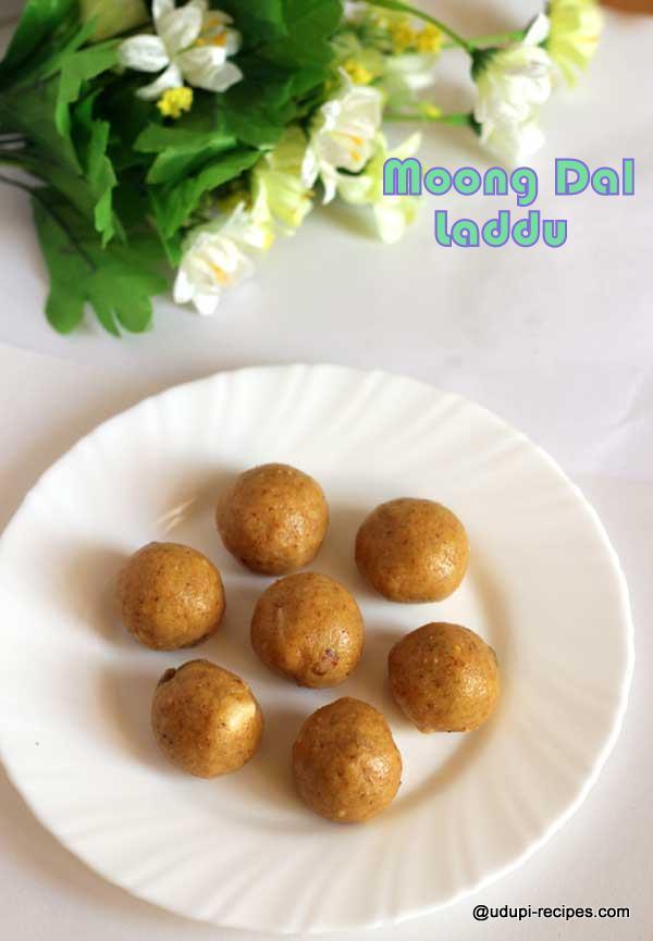 yummy sweet moong dal laddu