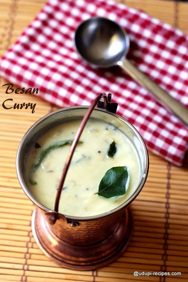 Besan Curry | Gram Flour Curry Recipe
