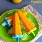 Cool cool mango popsicle
