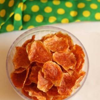 brined jackfruit fryums