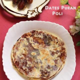 Dates Puran Poli | Kharjoorda Holige