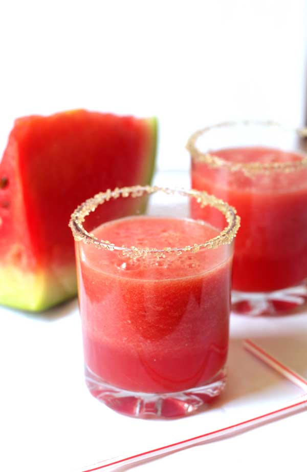Cool cool watermelon juice