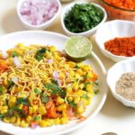 Easy sweet corn chaat
