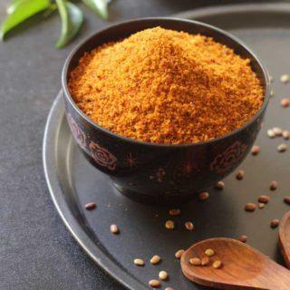 Horse gram Chutney Powder | Huruli Kalina Chutney Pudi