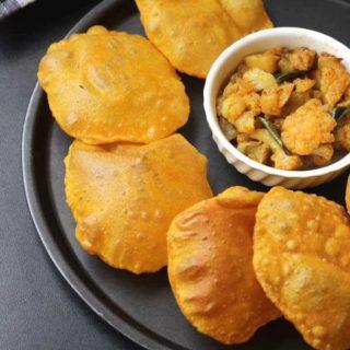Mango Poori | Aam Ki Puri Recipe