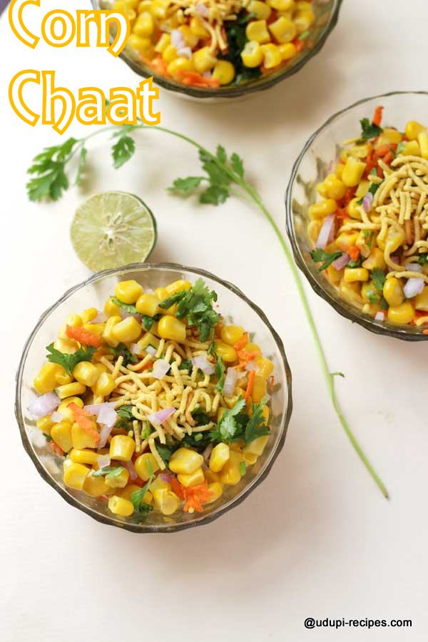 Power packed sweet corn chaat