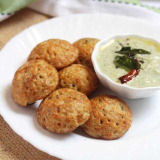 Instant Oats Paniyaram | Oats Guliappa Recipe