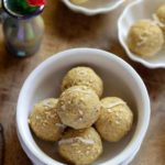 Delicious roasted gram ladoo