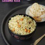 Easy sesame rice