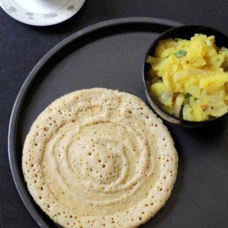 Foxtail millet dosa | Navane Dosa Recipe