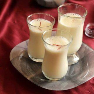 Badam Milk | Badami Haalu Recipe