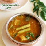 brinjal drumstick curry
