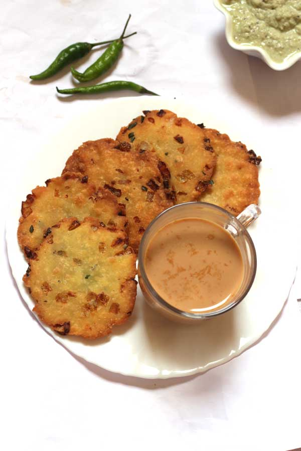 maddur vada - tea time snack