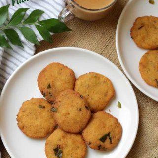 Brined Jackfruit Vada |  Uppalachir Vade Recipe