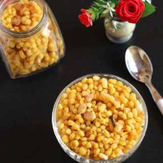 Sweet Boondi Recipe
