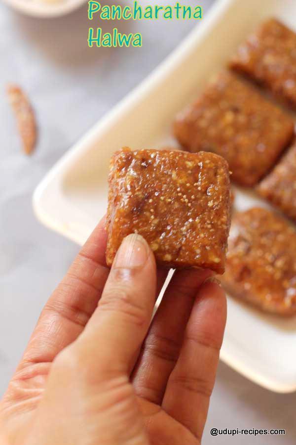 unique-sweet pancharatna halwa