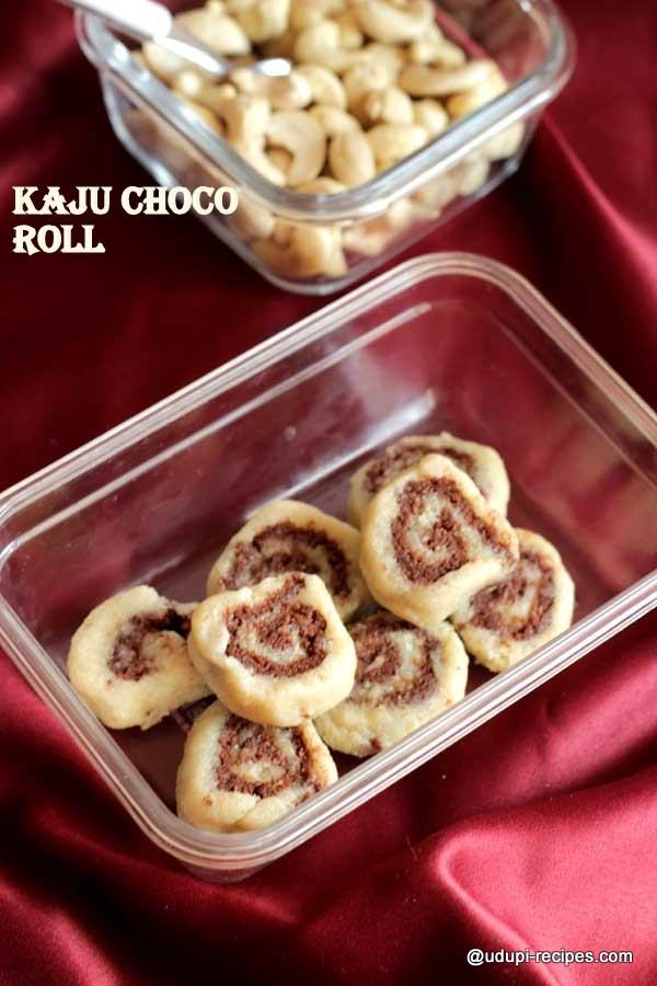 easy-kaju choco roll
