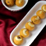 quick besan ladoo