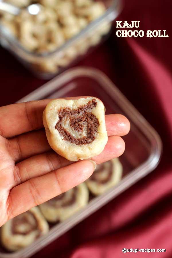 tasty-kaju choco roll