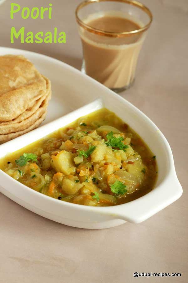 Poori Masala Recipe | Excellent Breakfast