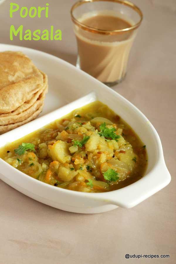 delicious poori masala