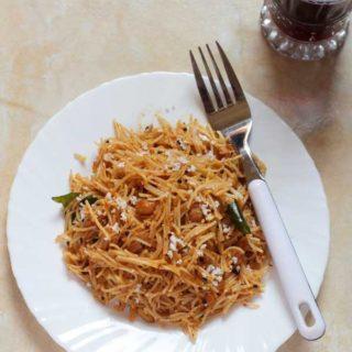 Tamarind Vermicelli Upma Recipe