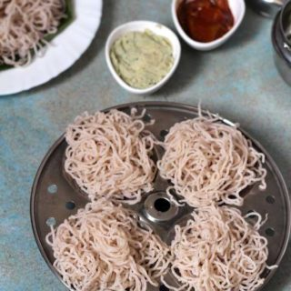 Red Parboiled Rice Shavige | Parboiled Rice Noodles