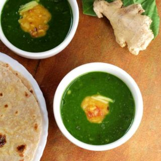 Dal Palak | Spinach Dal Recipe | Chapati Side Dish