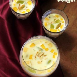 Sago Delight | Sago Kheer with Fruits