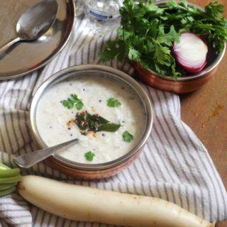 Radish Raita Recipe | Moolangi Mosaru Bajji