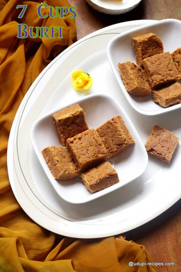 tasty 7 cups burfi